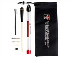View The Tekmat 7 Piece .22 Caliber cleaning Kit For Handguns | NDZ Performance