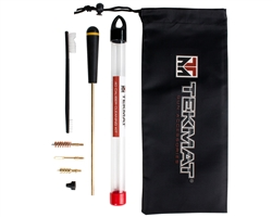 View The Tekmat 7 Piece 40 Caliber cleaning Kit For Handguns | NDZ Performance