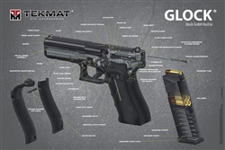 Buy the Tekmat 3D Cutaway Poster For Glock 24 X 36 - Lowest Prices