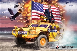 Tekmat Poster For Donald Trump CoMMander And Chief 24 X 36 - Lowest Prices
