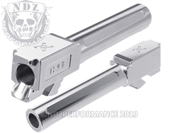 True Precision Glock 19 Non Threaded Stainless Steel Barrel X Fluted