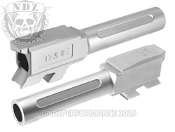True Precision Glock 43 Barrel Stainless