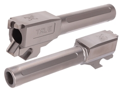 True Precision Barrel for Sig Sauer P320 Compact, X-Compact, M18 Only in Chromium Nitride (CrN) 3.9""
