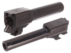 True Precision Barrel for Sig Sauer P320 Compact, X-Compact, M18 Only in Diamond-Like Carbon (DLC) 3.9""