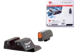 Trijicon Orange 3 Dot HD Night Sight Set for Glock 17 19 26 27 33 34