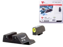 Trijicon Yellow 3 Dot HD Night Sight Set for Glock 17 19 26 27 33 34
