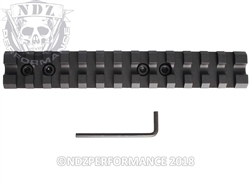 "Leapers UTG Scope Mount For Mossberg Shotgun 5.5"" With 13 Slots"