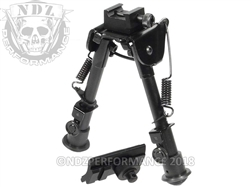"Leapers UTG Tactical Bipod Picatinny - Weaver Rail 5.9""-7.3"" TL-BP78q"