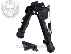 "Leapers UTG Super Duty Bipod QD Lever Mount 6.0""-8.5"" Metal TL-BP98Q"