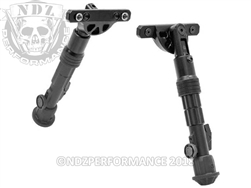 "Leapers UTG Recon Flex KeyMod Bipod Center Height 5.7""-8"" TL-BPDK01"