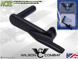 Wilson Combat 1911 Extended Slide Stop Blue WC-7B