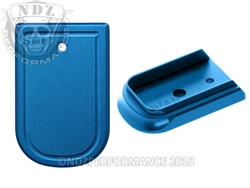 NDZ Blue Magazine Plate for Springfield Armory XD and XD MOD 2 (*LZ)