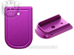 NDZ Purple Magazine Plate for Springfield Armory XD and XD MOD 2 (*LZ)