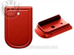 NDZ Performance Springfield Armory XD & XD MOD 2 Red Mag Plate