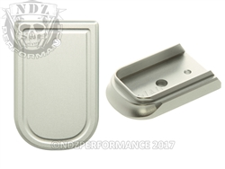 NDZ Silver Magazine Plate for Springfield Armory XD and XD MOD 2 (*LZ)