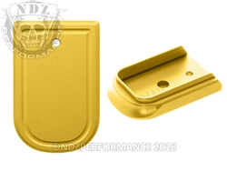 NDZ Gold Magazine Plate for Springfield Armory XD and XD MOD 2 (*LZ)
