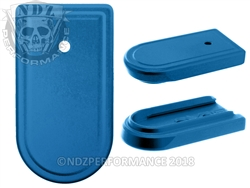 NDZ Blue Magazine Plate for Springfield Armory XD-S (*LZ)