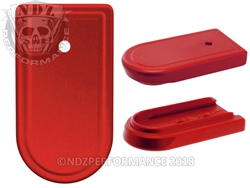 NDZ Red Magazine Plate for Springfield Armory XD-S (*LZ)