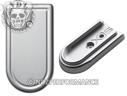 NDZ Silver Magazine Plate for Springfield Armory XD-S (*LZ)