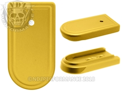 NDZ Gold Magazine Plate for Springfield Armory XD-S (*LZ)