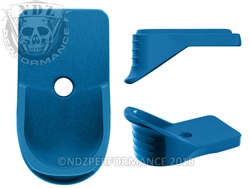 NDZ Blue Magazine Plate Finger Extension for Springfield Armory XD-S (*LZ)