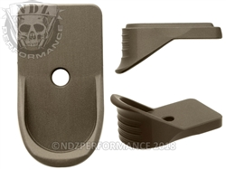 NDZ Springfield Armory XD-S Customizable HC FDE Mag Plate Extension