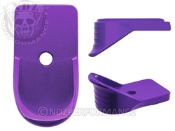 NDZ Purple Magazine Plate Finger Extension for Springfield Armory XD-S (*LZ)
