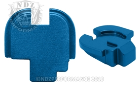 NDZ Blue Rear Plate for Springfield Armory XD-S (*LZ)