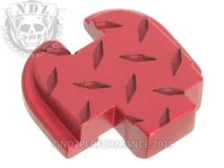 Red Springfield XD-S Rear Plate Dia Cut Inv