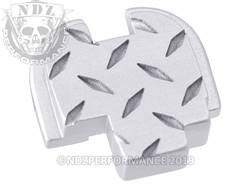 Silver Springfield XD-S Rear Plate Dia Cut Inv
