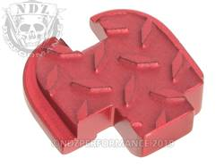 Red Springfield XD-S Rear Slide Plate Dia Cut