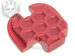Red Springfield XD-S Rear Slide Plate HC Inv