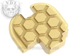 Gold Springfield XD-S Rear Slide Plate HC