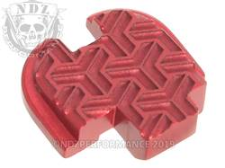 Red Springfield XD-S Rear Slide Plate TW Inv