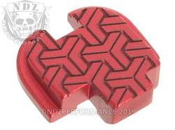 Red Springfield XD-S Rear Slide Plate TW