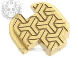 Gold Springfield XD-S Rear Slide Plate TW