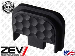 Zev Black Honeycomb Glock Slide Plate