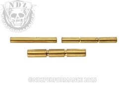 Zev Gold 3 Pin Kit for Glock Gen 1-3