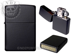 Zippo Matte Black Windproof Lighter (*LZ)