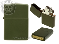 Zippo Matte Green Windproof Lighter (*LZ)