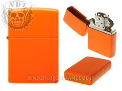 Zippo Matte Orange Windproof Lighter (*LZ)