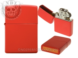 Zippo Matte Red Windproof Lighter (*LZ)