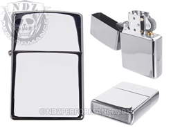 Zippo High Polish Chrome Windproof Lighter