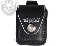Zippo Lighter Pouch Black With Belt Loop