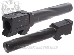 Zaffiri Precision Glock 17 Barrel Flush & Crown Black Nitride