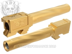 Zaffiri Precision Glock 17 Barrel Flush & Crown Gold Tin