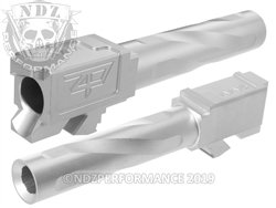 Zaffiri Precision Glock 19 Barrel Flush & Crown Stainless
