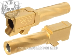 Zaffiri Precision Glock 26 Barrel Flush & Crown Gold Tin