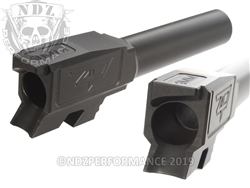 Zaffiri Precision Glock 43 Barrel Flush & Crown Black Nitride