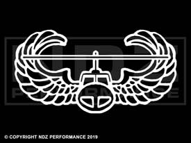 016 - US Army Air Assault Logo Outline
